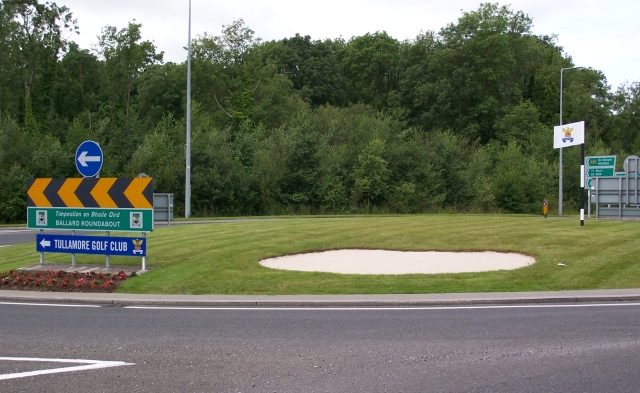 roundabout from dublin side